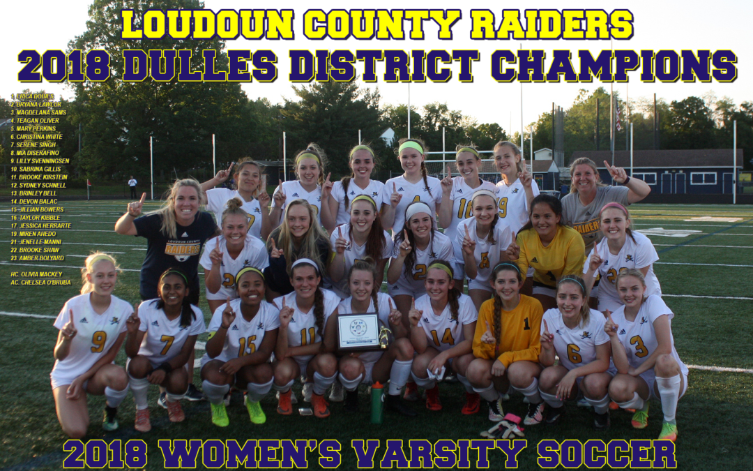 Loudoun County downs Riverside in Dulles District girls' soccer final